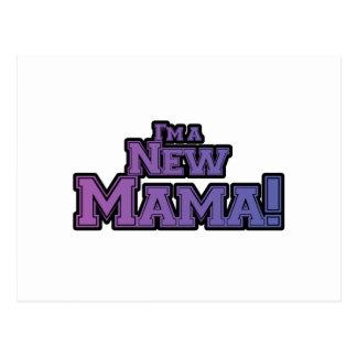 Purple I'm a New Mama Tshirts and Gifts Postcard