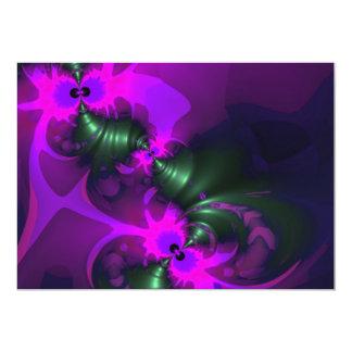 Purple Imp – Violet and Magenta Ribbons Card