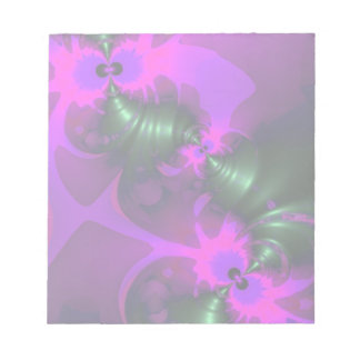 Purple Imp – Violet and Magenta Ribbons Notepads
