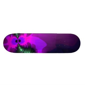 Purple Imp – Violet and Magenta Ribbons Skateboard