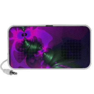 Purple Imp – Violet and Magenta Ribbons Travel Speakers