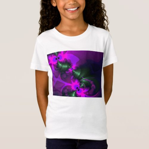 Purple Imp – Violet and Magenta Ribbons T-Shirt