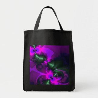 Purple Imp – Violet and Magenta Ribbons Tote Bag