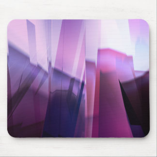 Purple Infraction Mouse Pad