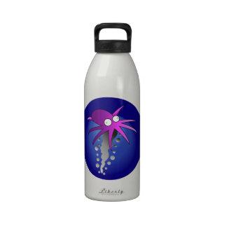 Purple Ink Drinking Bottles