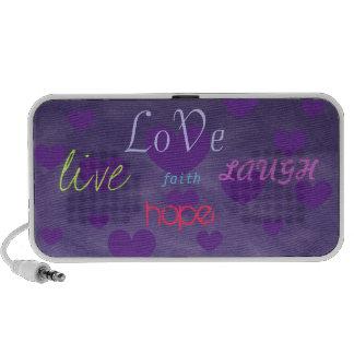 purple inspirational speaker