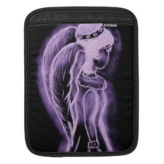 Purple Inverted Sideways Angel Sleeve For iPads