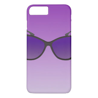 Purple iPhone 7 Cases With Sunglasses