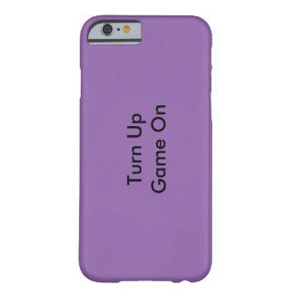 Purple iPhone case Turn Up