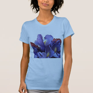 Purple Iris and Red Tulips Tank Top