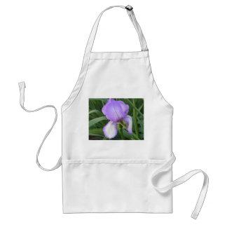 Purple Iris Apron