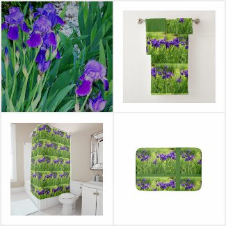 Purple Iris Botanical - Floral Gifts