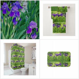 Purple Iris Botanical - Floral Gifts