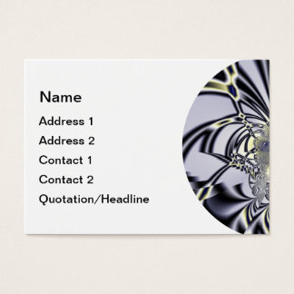 Purple Iris Business Card