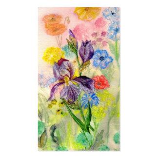 'Purple Iris' Business Card
