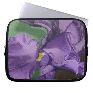 Purple Iris! Computer Sleeve