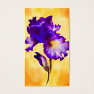 Purple Iris (flower) Business Cards