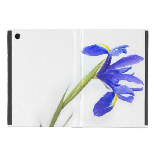 Purple Iris Flower Cases For iPad Mini