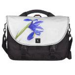 Purple Iris Flower Computer Bag
