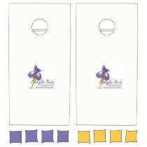 Purple Iris Foundation Cornhole Game