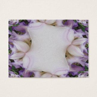 Purple Iris Fractal Note card