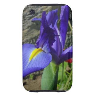 Purple Iris iPhone 3 Tough Case
