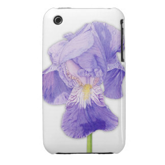 Purple Iris iPhone 3G/3GS Case-Mate Barely There™ iPhone 3 Case-Mate Cases