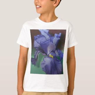 Purple Iris Kids T-Shirt