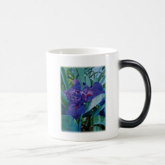 Purple Iris Magic Mug