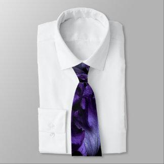 Purple Iris Regular Tie