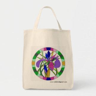 Purple Iris Tote Tote Bag