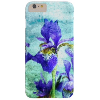 Purple Iris Watercolor Barely There iPhone 6 Plus Case