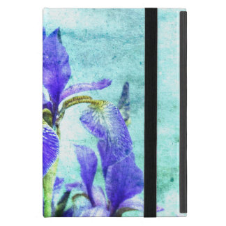 Purple Iris Watercolor Case For iPad Mini