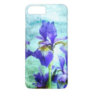 Purple Iris Watercolor iPhone 8 Plus/7 Plus Case