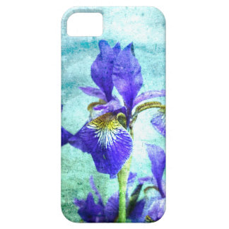 Purple Iris Watercolor iPhone SE/5/5s Case