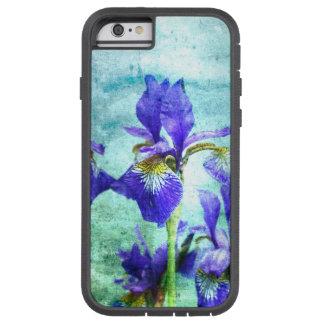 Purple Iris Watercolor Tough Xtreme iPhone 6 Case