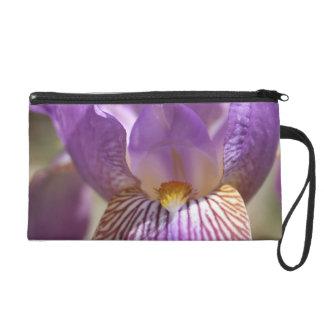 Purple Iris Wristlet