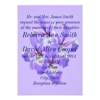 Purple Irises Announcement