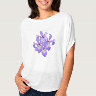 Purple Irises Bella Flowy Top - A Casual to Dressy