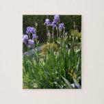 Purple Irises in Gainesville Park Puzzle