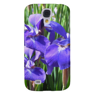 Purple Irises iPhone 3 Speck case Galaxy S4 Covers