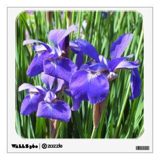 Purple Irises Wall Decal