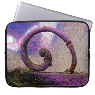 Purple iron. computer sleeve