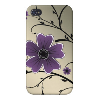 purple ivory 4 casing iPhone 4/4S cover