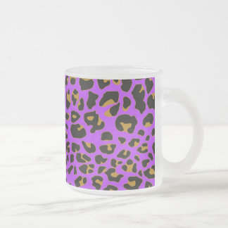 Purple Jaguar Coffee Mugs