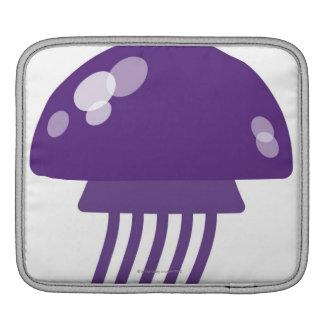 Purple Jellyfish Sleeve For iPads