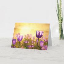 Purple Jubilee Card