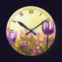 Purple Jubilee Clock