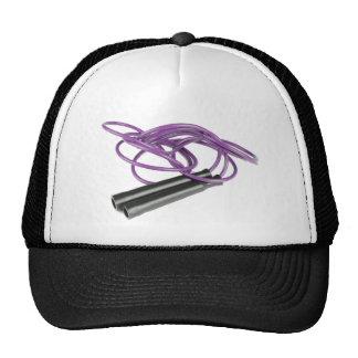 Purple Jump Rope Trucker Hat