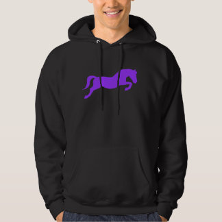 Purple Jumping Pony Hoodie